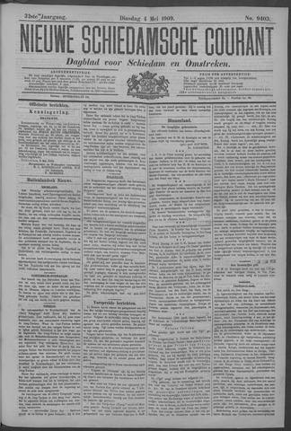 Nieuwe Schiedamsche Courant 1909-05-04