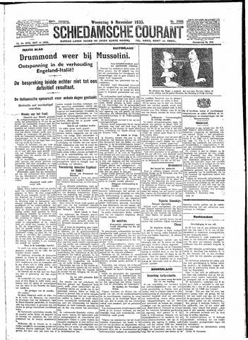 Schiedamsche Courant 1935-11-06