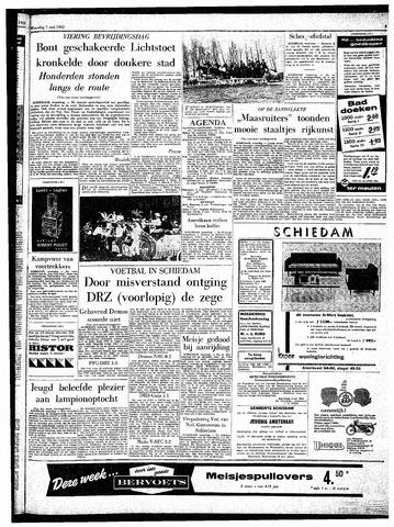 Rotterdamsch Parool / De Schiedammer 1962-05-07