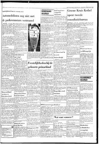 Rotterdamsch Nieuwsblad / Schiedamsche Courant / Rotterdams Dagblad / Waterweg / Algemeen Dagblad 1968-09-06