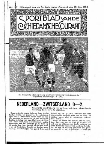 Schiedamsche Courant 1933-01-23
