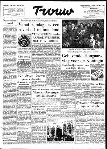 Trouw / De Rotterdammer 1956-11-20