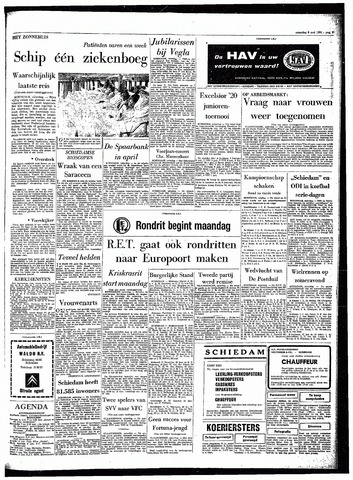 Rotterdamsch Parool / De Schiedammer 1964-05-09