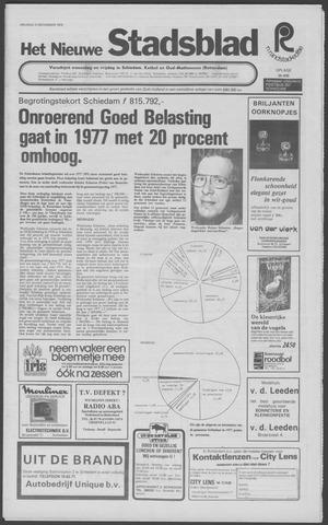Het Nieuwe Stadsblad 1976-11-12
