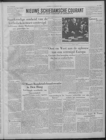 Nieuwe Schiedamsche Courant 1949-02-26