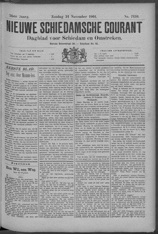 Nieuwe Schiedamsche Courant 1901-11-24