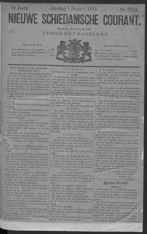 Nieuwe Schiedamsche Courant 1886-01-05