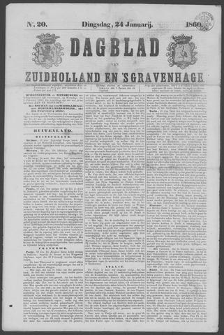 Dagblad van Zuid-Holland 1860-01-24