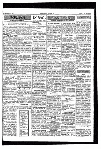 Rotterdamsch Nieuwsblad / Schiedamsche Courant / Rotterdams Dagblad / Waterweg / Algemeen Dagblad 1953-07-20