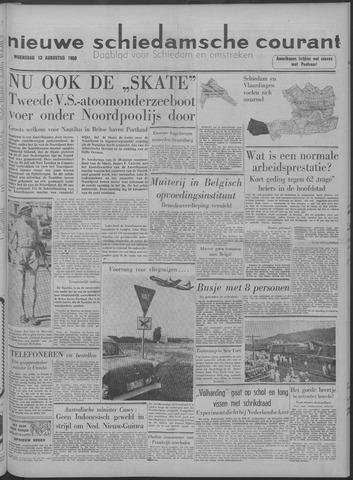 Nieuwe Schiedamsche Courant 1958-08-13