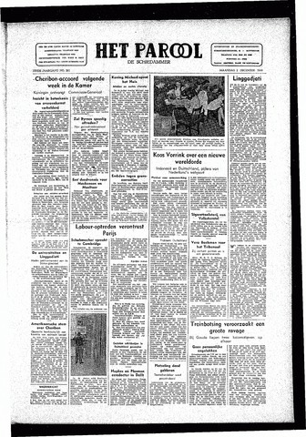 Rotterdamsch Parool / De Schiedammer 1946-12-02