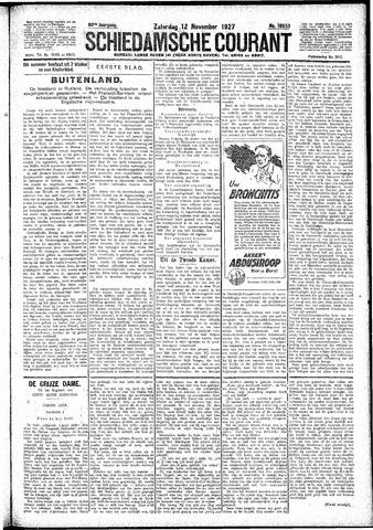 Schiedamsche Courant 1927-11-12