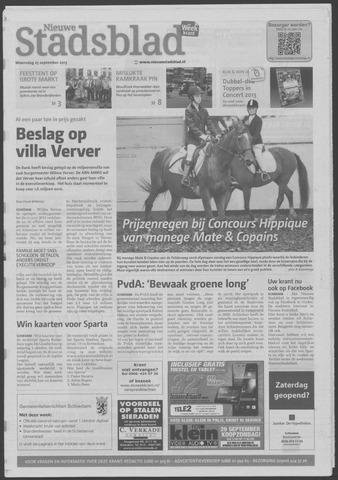 Het Nieuwe Stadsblad 2013-09-25