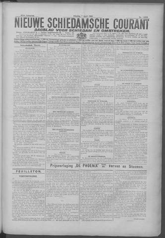 Nieuwe Schiedamsche Courant 1925-04-07