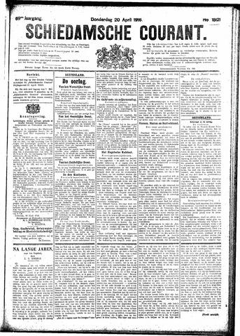 Schiedamsche Courant 1916-04-20