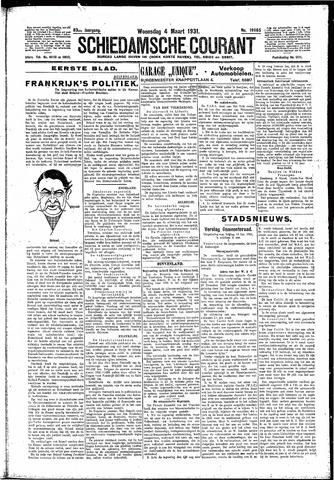 Schiedamsche Courant 1931-03-04