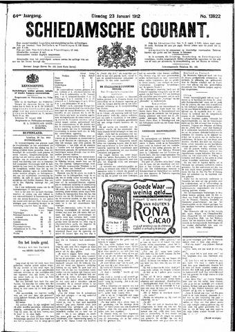 Schiedamsche Courant 1912-01-23
