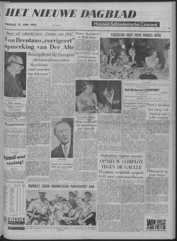 Nieuwe Schiedamsche Courant 1962-06-15