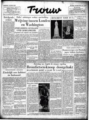 Trouw / De Rotterdammer 1953-07-31