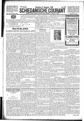 Schiedamsche Courant 1929-08-12