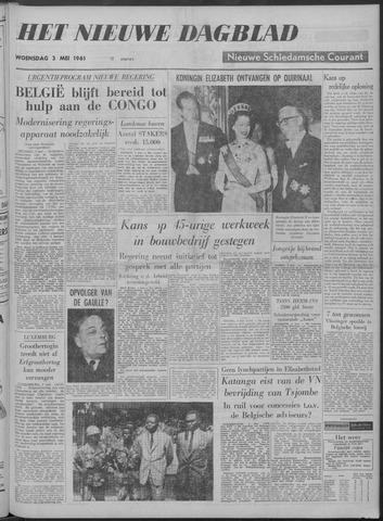 Nieuwe Schiedamsche Courant 1961-05-03