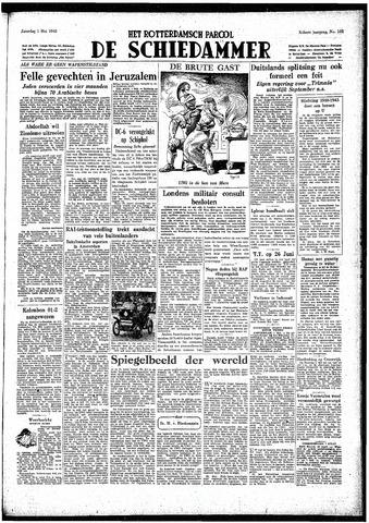Rotterdamsch Parool / De Schiedammer 1948-05-01