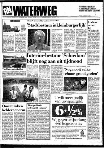 Rotterdamsch Nieuwsblad / Schiedamsche Courant / Rotterdams Dagblad / Waterweg / Algemeen Dagblad 1987-08-21