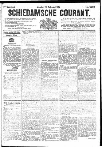 Schiedamsche Courant 1910-02-20