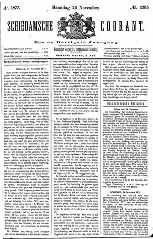 Schiedamsche Courant 1877-11-26