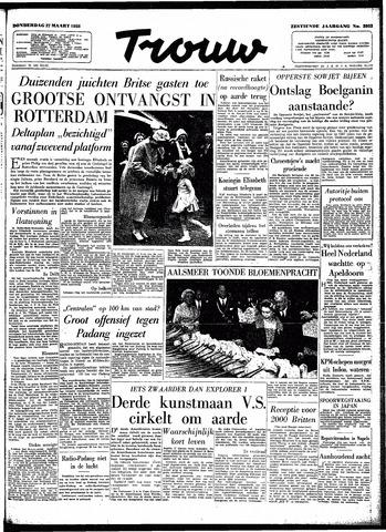 Trouw / De Rotterdammer 1958-03-27