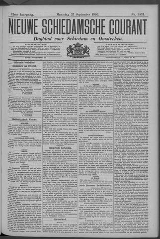 Nieuwe Schiedamsche Courant 1909-09-27