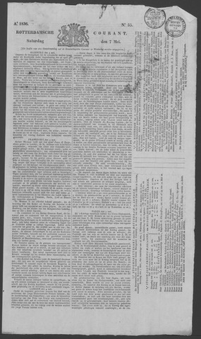 Rotterdamse Courant 1836-05-07