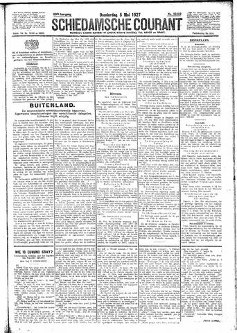 Schiedamsche Courant 1927-05-05