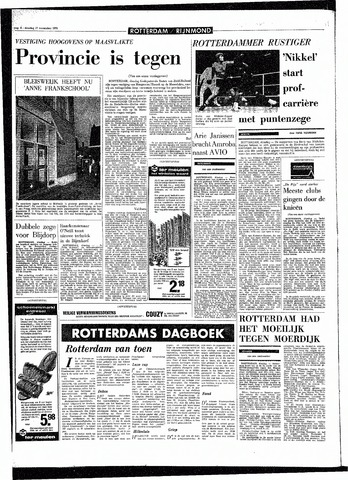 Rotterdamsch Parool / De Schiedammer 1970-11-17