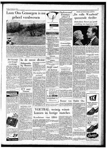 Rotterdamsch Parool / De Schiedammer 1957-10-18