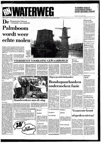 Rotterdamsch Nieuwsblad / Schiedamsche Courant / Rotterdams Dagblad / Waterweg / Algemeen Dagblad 1985-09-27