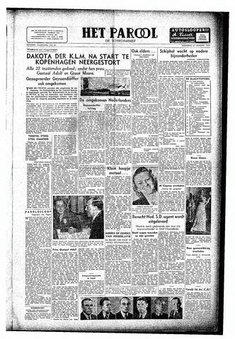 Rotterdamsch Parool / De Schiedammer 1947-01-27