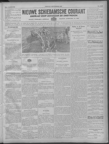Nieuwe Schiedamsche Courant 1932-09-09