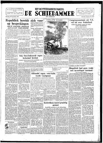Rotterdamsch Parool / De Schiedammer 1947-09-20
