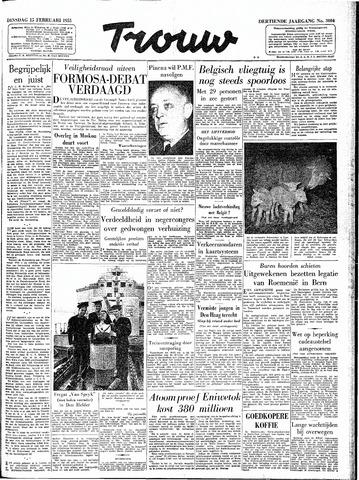 Trouw / De Rotterdammer 1955-02-15