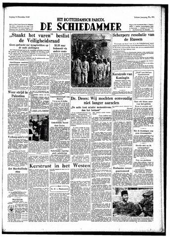 Rotterdamsch Parool / De Schiedammer 1948-12-24