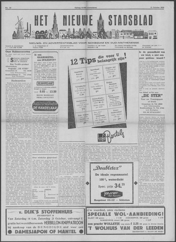 Het Nieuwe Stadsblad 1950-10-13