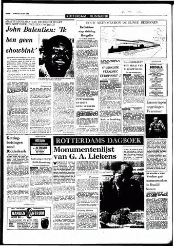 Rotterdamsch Parool / De Schiedammer 1968-04-25