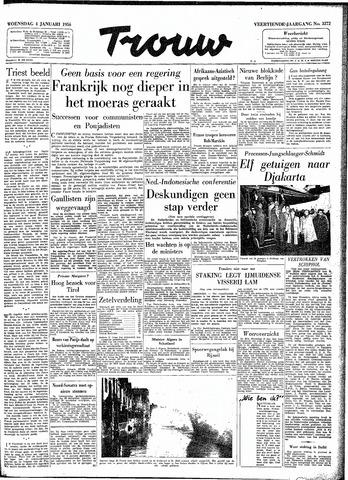 Trouw / De Rotterdammer 1956-01-04