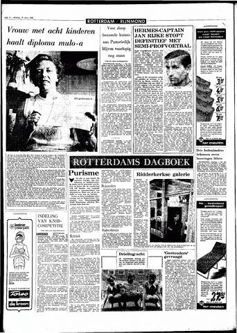 Rotterdamsch Parool / De Schiedammer 1968-06-25
