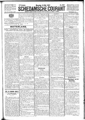 Schiedamsche Courant 1927-05-16