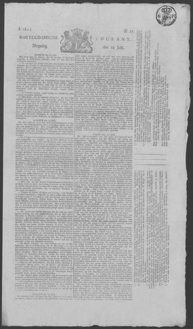 Rotterdamse Courant 1823-07-22