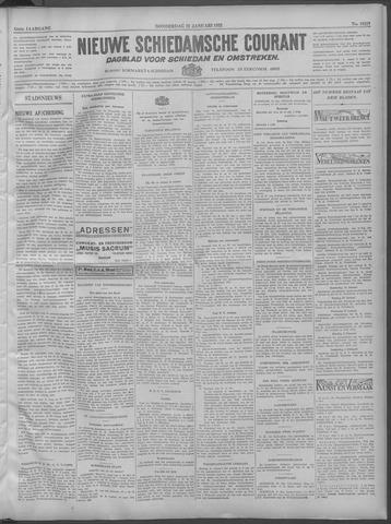 Nieuwe Schiedamsche Courant 1932-01-21