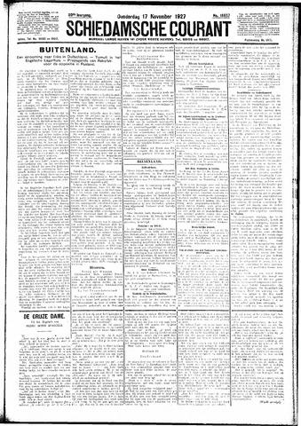 Schiedamsche Courant 1927-11-17