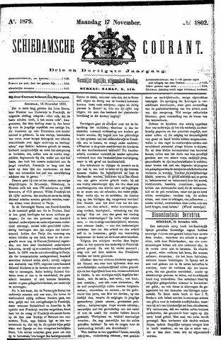 Schiedamsche Courant 1879-11-17